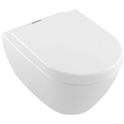 Vas WC suspendat Villeroy & Boch Subway 2.0 ViFresh 56x37cm, DirectFlush, Alb