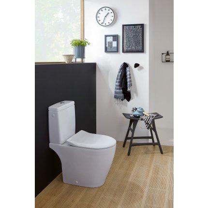 Capac wc Villeroy & Boch Avento Slim cu inchidere lenta si sistem QuickRelease