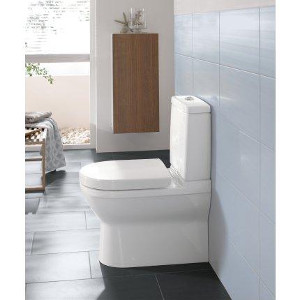 Rezervor WC Villeroy & Boch O.Novo pentru vas wc back-to-wall, Alb Alpin