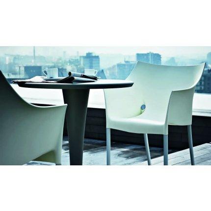 Masa Kartell Dr. NA design Philippe Starck, d60cm, h73cm, verde