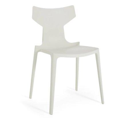 Scaun Kartell Re-Chair design Antonio Citterio, alb