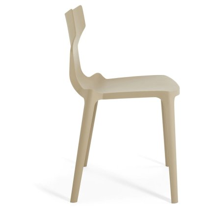 Scaun Kartell Re-Chair design Antonio Citterio, gri dove