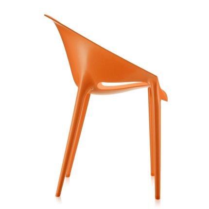 Scaun Kartell Dr. Yes design Philippe Starck & Eugeni Quitllet, portocaliu