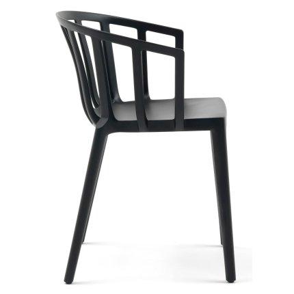 Scaun Kartell Venice design Philippe Starck negru mat