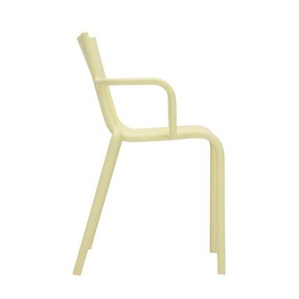 Scaun Kartell Generic A design Philippe Starck, galben