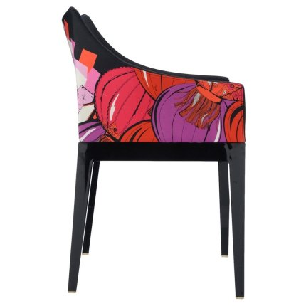 Scaun Kartell Madame design Philippe Starck, Shanghai negru