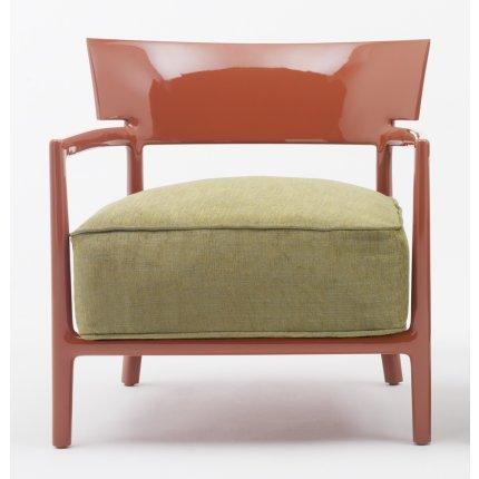 Fotoliu Kartell Cara Solid design Philippe Stark & Sergio Schito, ruginiu/verde
