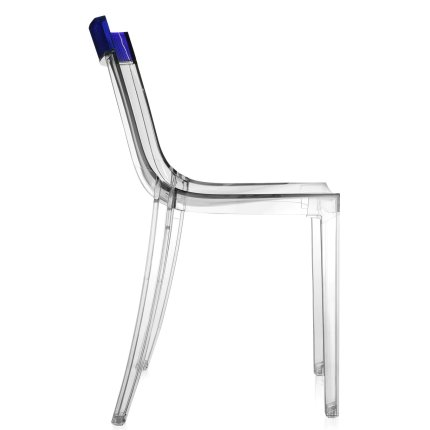 Scaun Kartell HI-CUT design Philippe Stark & Eugeni Quittlet, transparent-mov