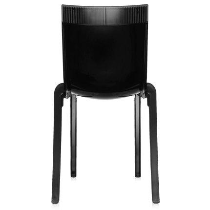 Scaun Kartell HI-CUT design Philippe Stark & Eugeni Quittlet, negru-gri