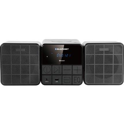 Minisistem audio Blaupunkt MS10BT, CD Player, USB, 2x5W, Black