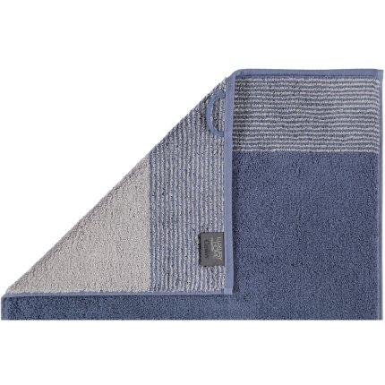 Prosop baie Cawo Two-Tone 80x150cm, 10 albastru midnight