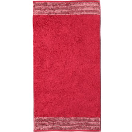Prosop baie Cawo Two-Tone 50x100cm, 22 rosu bordeaux