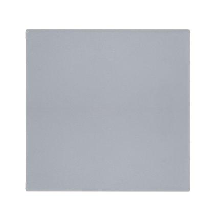 Masuta Kartell Bubble, design Philippe Starck,51.5x51.5cm, hx41.5cm, gri deschis