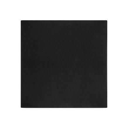 Masuta Kartell Bubble, design Philippe Starck,51.5x51.5cm, hx41.5cm, negru
