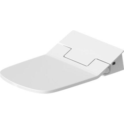 Capac WC Duravit SensoWash Slim DuraStyle cu functie de bideu, alb alpin