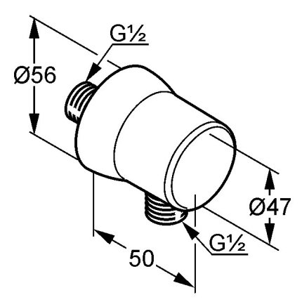 Sistem de dus incastrat Kludi Balance A-QA negru mat cu doi consumatori