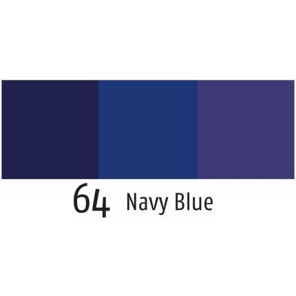Husa perna Sander Fellini 40x40cm, 64 albastru nightshadow