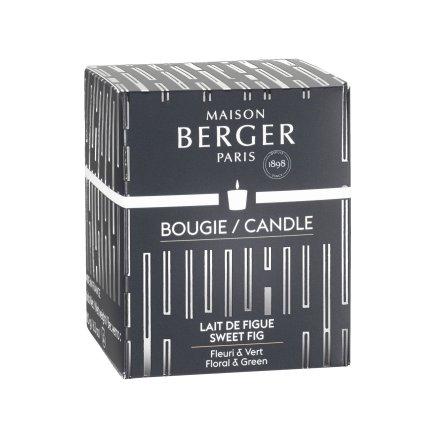 Lumanare parfumata Berger Amphora Noir Lait de Figue 180g