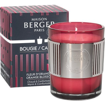 Lumanare parfumata Berger Amphora Framboise Fleur d'Oranger 180g