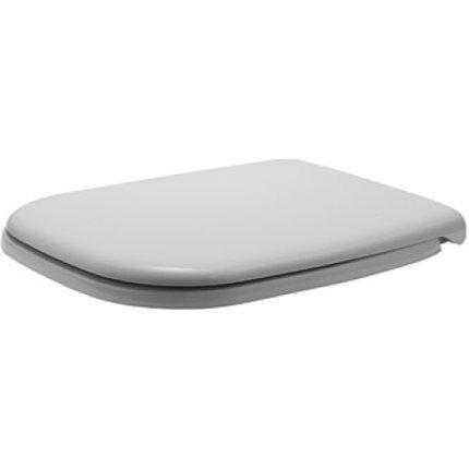 Set vas WC Duravit D-Code back-to-wall pentru rezervor ingropat si capac inchidere lenta