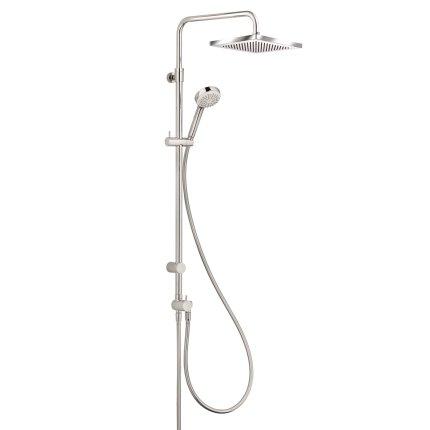 Coloana de dus Kludi Logo 1S Dual Shower, fara baterie de dus