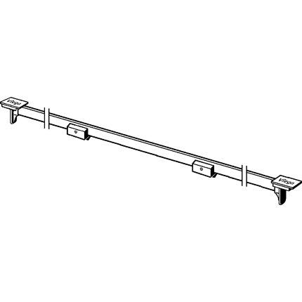 Capac rigola Viega Advantix Vario, ajustabil pe lungime 30-120 cm, inox lucios