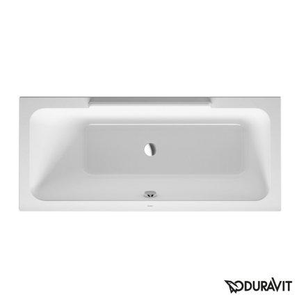 Cada baie rectangulara Duravit DuraStyle 160x70cm, acril, orientare stanga, montaj incastrat sau cu panouri