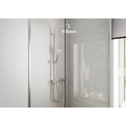 Baterie dus Hansgrohe Vernis Blend, crom