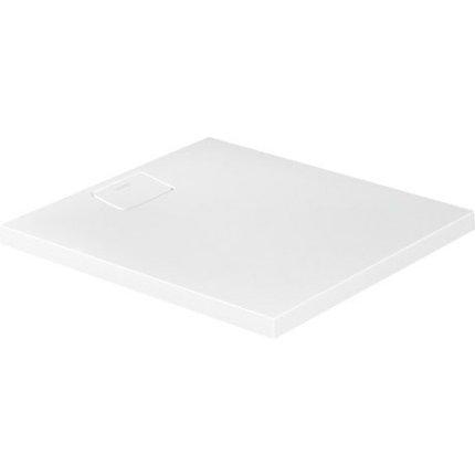 Cadita de dus dreptunghiulara Duravit Stonetto 80x90 cm, compozit alb