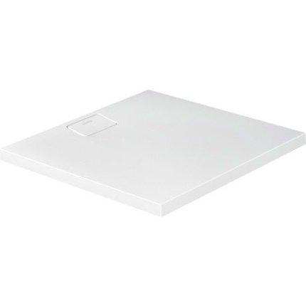 Cadita de dus dreptunghiulara Duravit Stonetto 90x90 cm, compozit alb