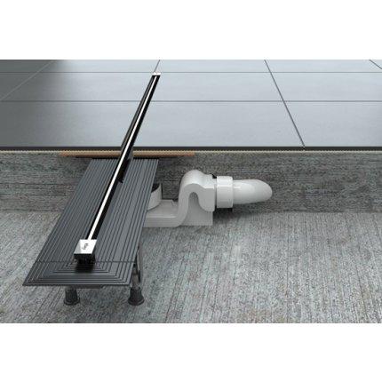 Capac rigola Viega Advantix Vario, ajustabil pe lungime 30-120 cm, inox mat
