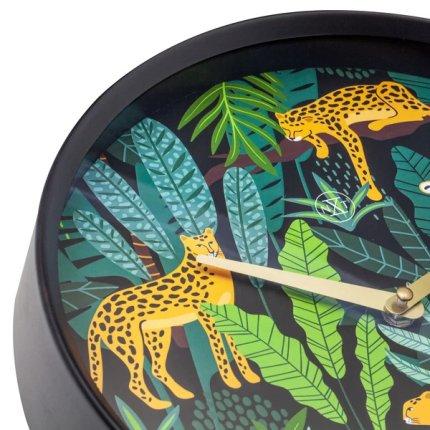 Ceas de perete NeXtime Urban Jungle 30cm, verde
