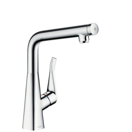 Baterie bucatarie Hansgrohe M712-H320, ComfortZone 320, crom