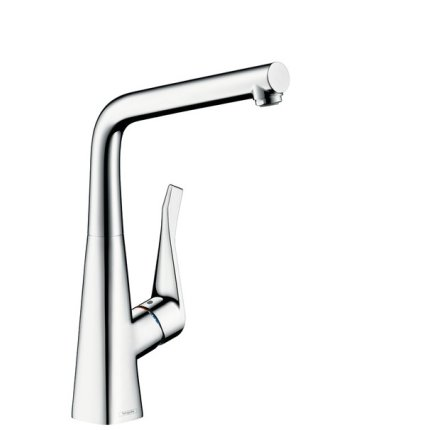 Baterie bucatarie Hansgrohe M713-H320, ComfortZone 320, pentru montare sub fereastra, crom