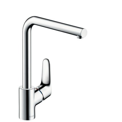Baterie bucatarie Hansgrohe M411-H280, ComfortZone 280, crom