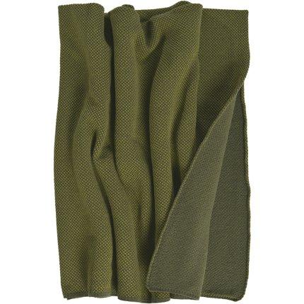 Pled Sander Stuart 125x150cm, 6 olive