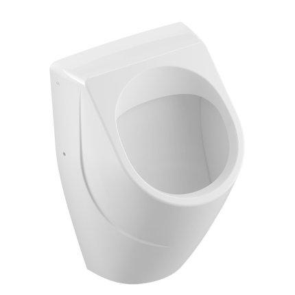 Urinal Villeroy & Boch O.Novo 33.5x32cm cu alimentare ascunsa, alb