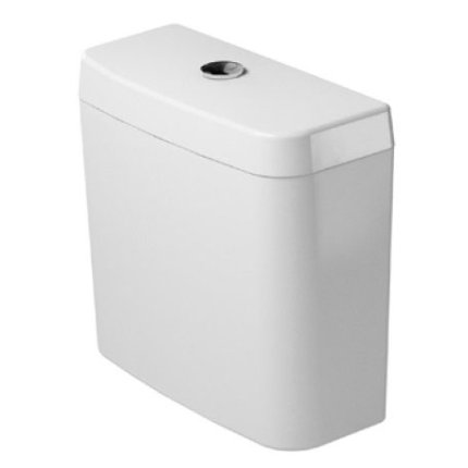 Rezervor wc Duravit D-Code Dual-Flush, alimentare stanga jos