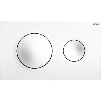 Clapeta actionare Viega Visign for Style 20, alb alpin