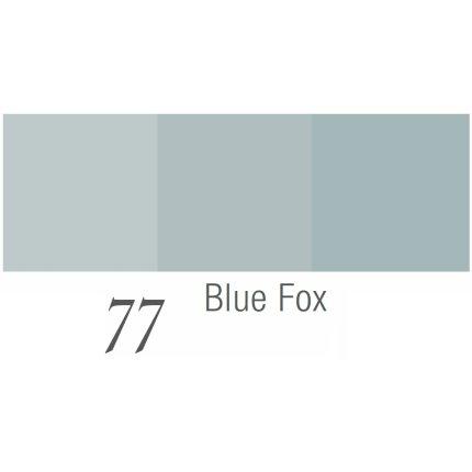 Fata de masa Sander Prints Valentine 110x110cm, 77 blue fox