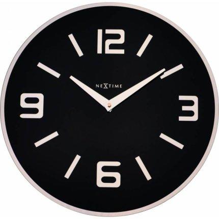 Ceas de perete NeXtime Shuwan Black 43cm