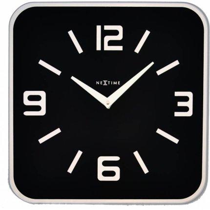 Ceas de perete NeXtime Shoko Black 43x43cm