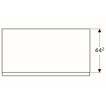 Dulap pe pardoseala Geberit iCon 89x47.2x47.7cm cu un sertar, gri platin lucios