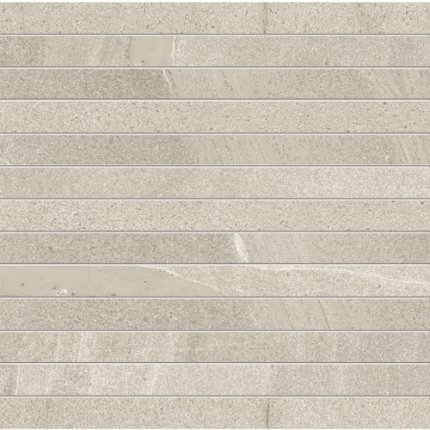 Mozaic Iris Pietra di Basalto 3x30, 30x30cm, Beige