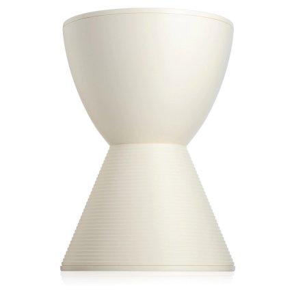 Masuta Kartell Prince Aha design Philippe Stark, d30cm, h43cm, alb