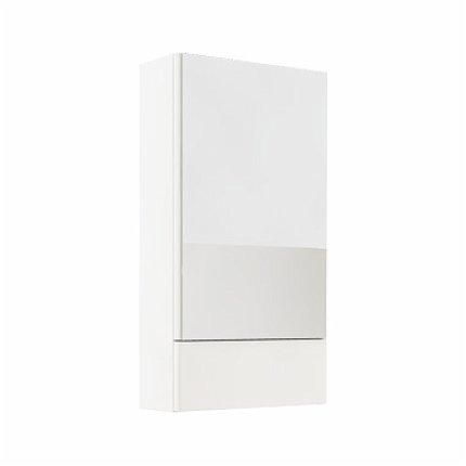 Dulap cu oglinda Kolo Nova PRO 85x46.4cm, alb lucios