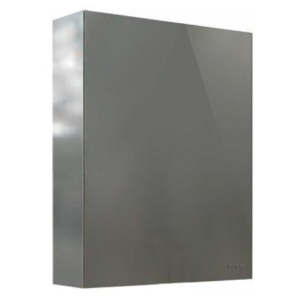 Dulap cu oglinda Kolo Twins 60x70x15 cm, inchidere lenta si 2 rafturi de sticla ajustabile