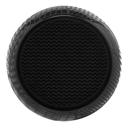 Taburet Kartell Roy design Alessandro Mendini, h43cm, d45cm, negru