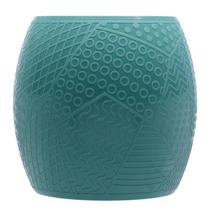 Taburet Kartell Roy design Alessandro Mendini, h43cm, d45cm, verde petrol