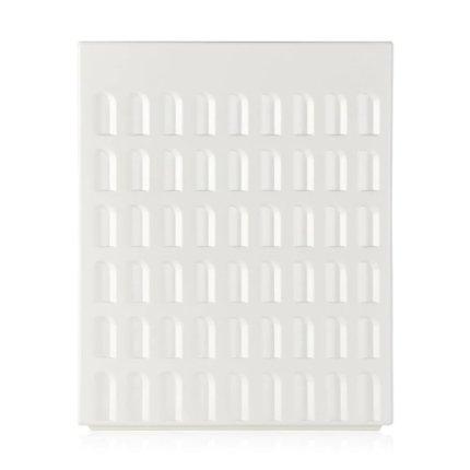 Taburet Kartell EUR design Fabio Novembre, 45x36x36cm, alb